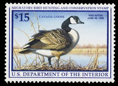 US Stamps  Canada Goose