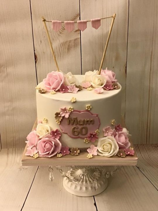 60th Birthday Cake                                                                                                                                                      More