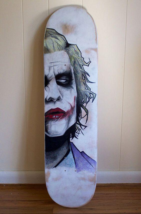 Agent Of Chaos Skateboard Deck by ArtGeekStudios on Etsy, $50.00