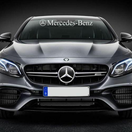 Mercedes Benz Front Windshield Decal Sticker A Class Amg C Class E Class Cl Mercedesbenz Amg Mercedes Benz C Class