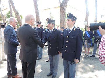 Pescara, Festa della Polizia:la cerimonia