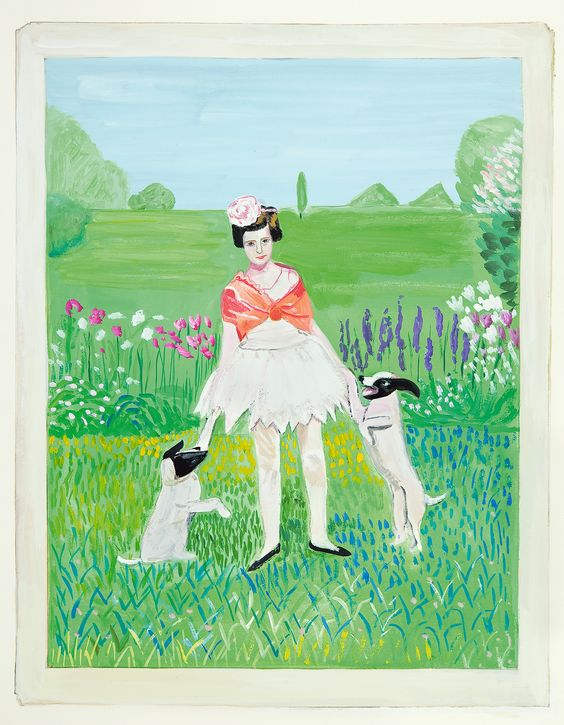 """The Askew and the Beautiful"": Maira Kalman on 'Girls Standing on Lawns' and Collaborating With Daniel Handler"