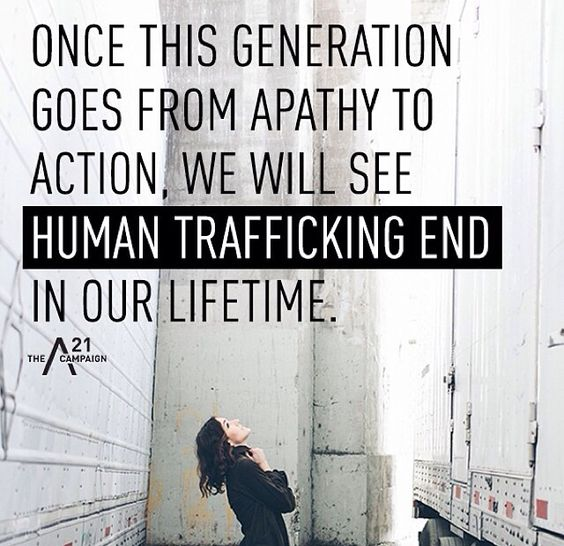 human traffcking Most people think of slavery as something that ended centuries ago unfortunately, human trafficking – modern-day slavery – not only exists, it's thriving.