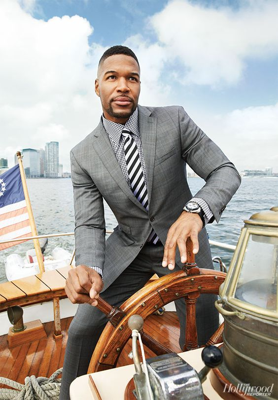 Just How Does Michael Strahan Hold Down So Many Jobs? The 'Live' Host Explains