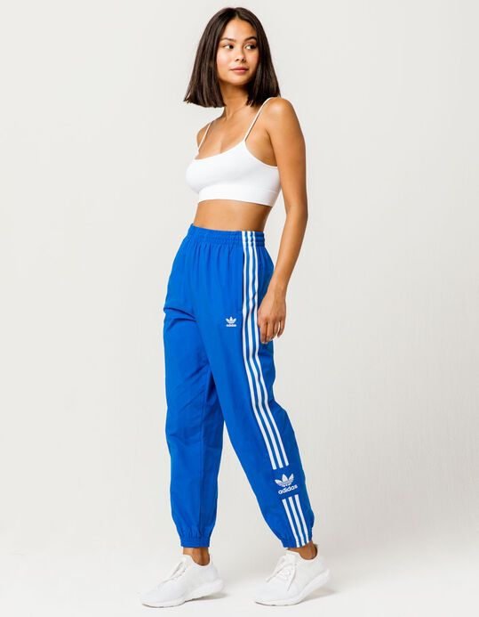ADIDAS Lock Up Blue Womens Track Pants | Track pants women ...