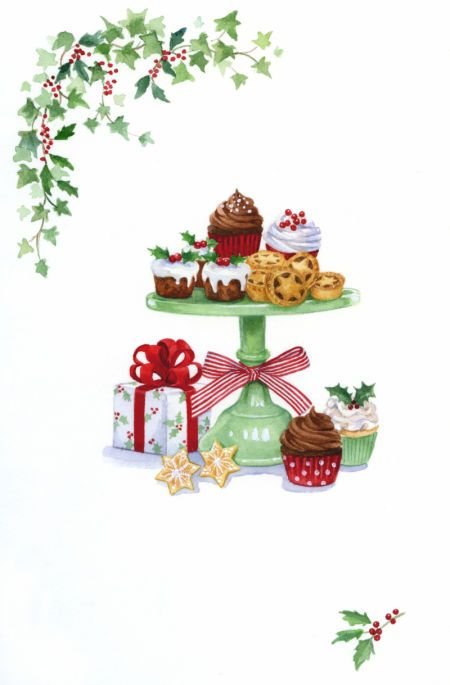 Lisa Alderson - LA - Christmas Cakes: