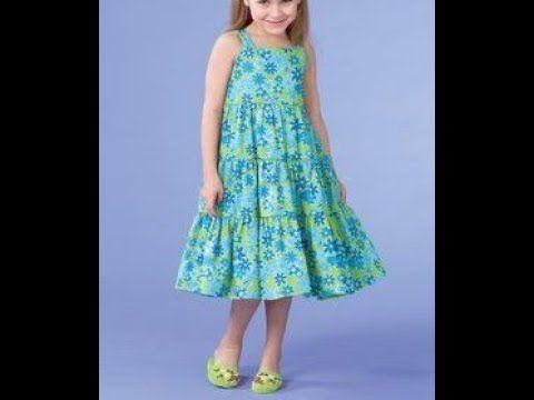 فستان للاطفال صيفي بحملات و كرانيش عمر سنتين هوايتي Youtube Summer Dresses Fashion Dresses
