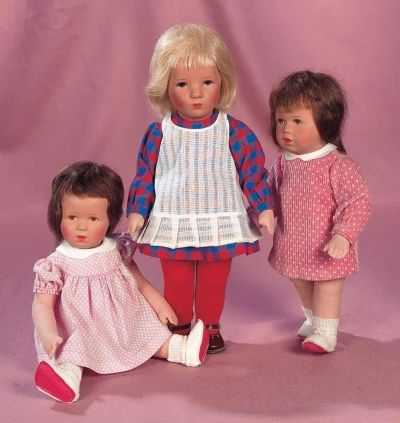 A Cherished Collection - Madame Andrée Petyt: 304 Pair,German Character Dolls by Kathe Kruse