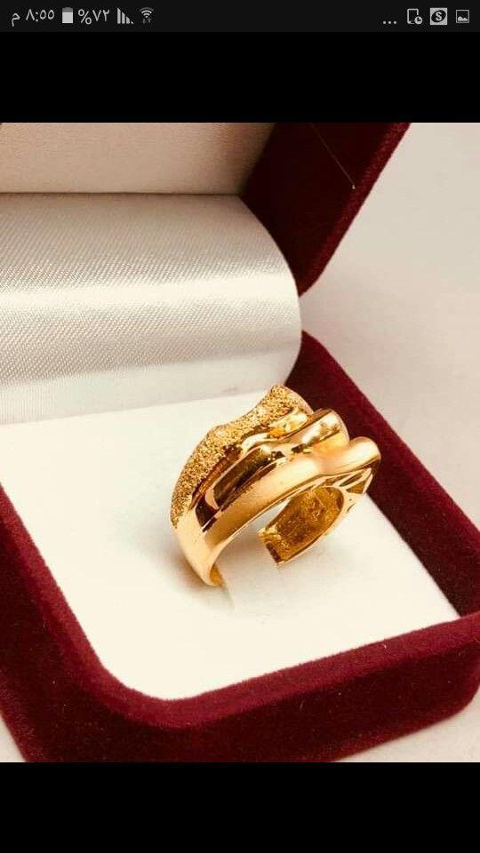 Pin By Alaa Alaa On خواتم ذهب فيس Gold Jewelry Fashion Gold Jewelry Fashion Jewelry