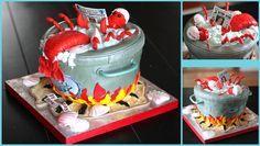 Lobster Cake #Creativity #Lobster #JoesCrabShack
