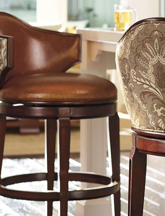 Bar stools low back and bar on pinterest for Comfortable bar stools with backs