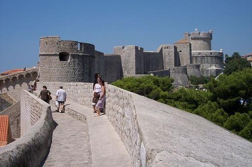 ドブロブニク 城壁