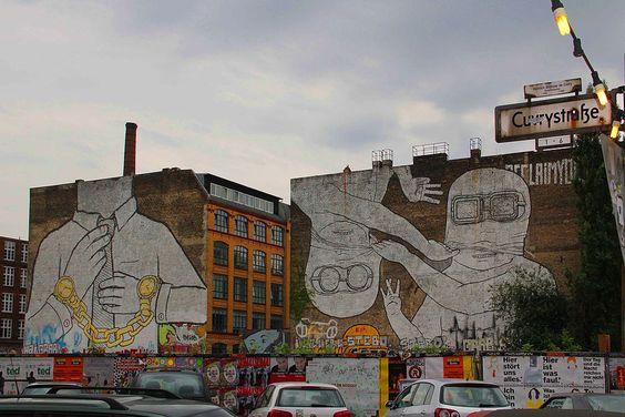 Murals by Blu