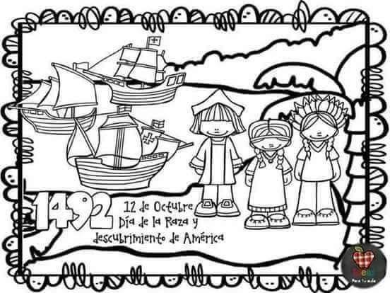 Pin De Paola Gutierrez Mora En Descubrimiento De America Actividades Ludicas Para Ninos Libros De Preescolar Actividades De Lectura Preescolar
