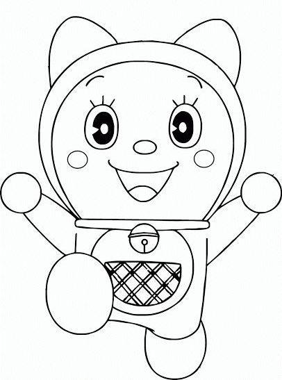 23 Sketsa Doraemon Dan Dorami Di 2020 Sketsa
