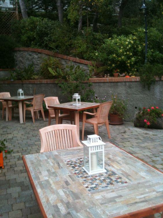 Come rinnovare un tavolo di plastica da esterno telaio in - Tavolo di plastica da giardino ...