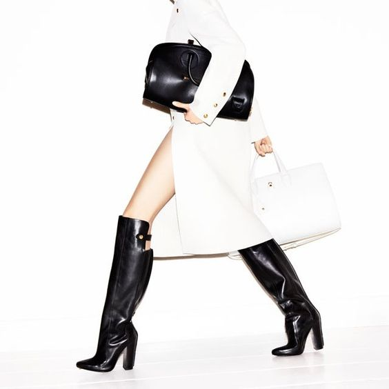 Kolfinna Leather Boots by Alexander Wang