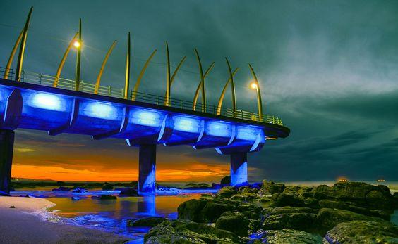 Whale-Bone Pier by Denis Ananiadis, via 500px