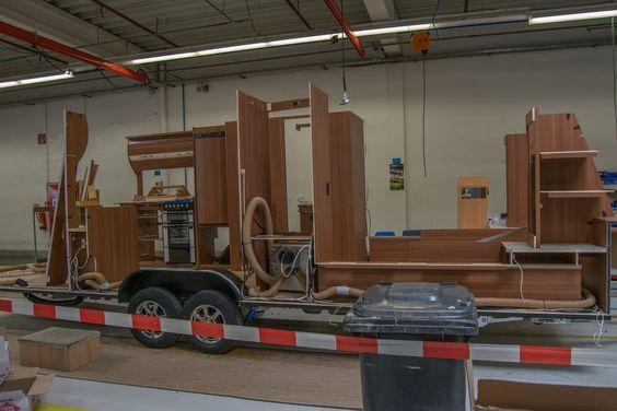 Die Produktion unserer Wohnwagen und Reisemobile, Haut nah