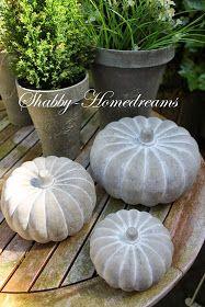 Shabby Homedreams: Der Herbst hält Einzug ...