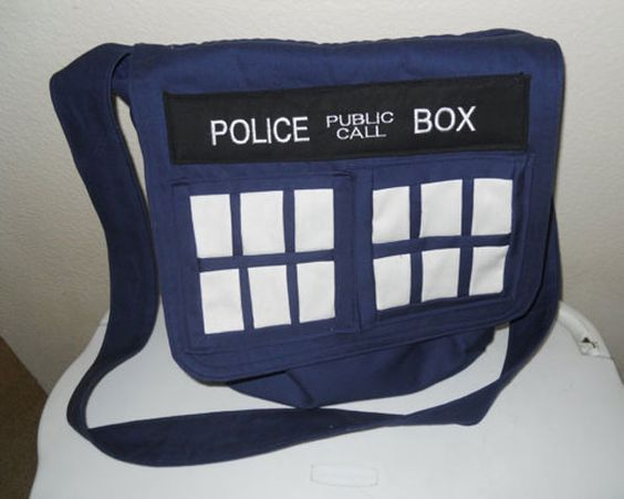 doctor who merchandise bag | Doctor Who Gear Is Cool: Awesome Custom Shoes, T-Shirts And Hats ...