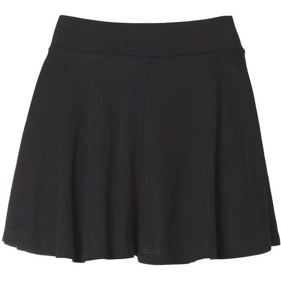 April May Mini Jupe Coton Black (€25) ❤ liked on Polyvore featuring skirts, mini skirts, saias, bottoms, faldas, women, black mini skirt, black skirt ve mini skirt