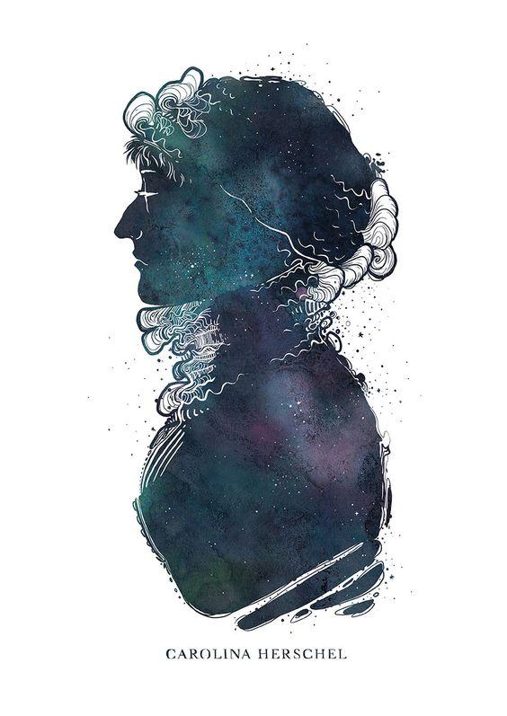 Caroline Herschel by Marina