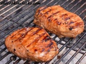 pork pork chops pork grilled pork chop marinade pork chop marinade ...
