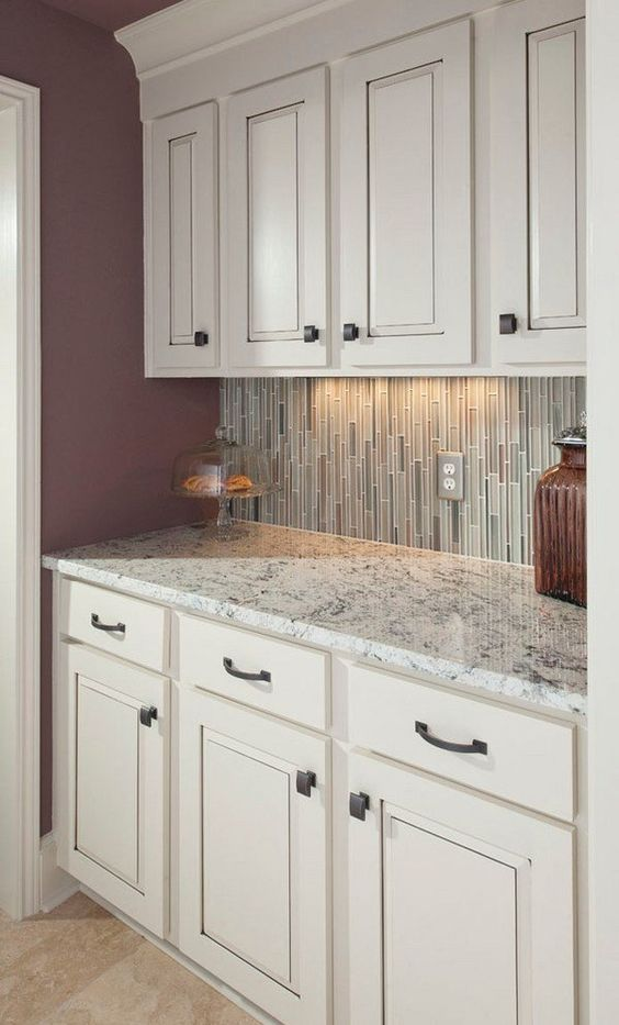 Best Small Kitchen Ideas White Ice Granite Countertop White 400 x 300