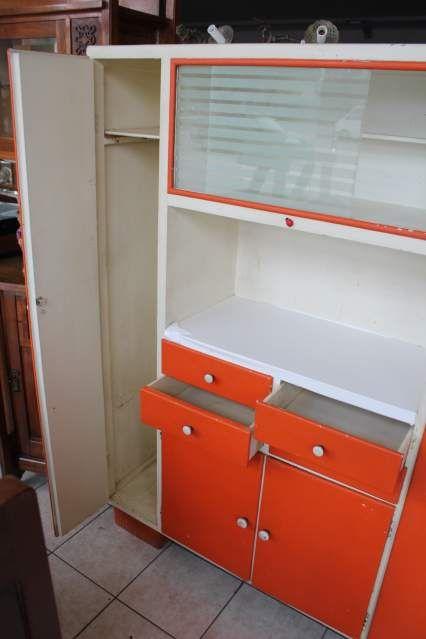 Mobile credenza dispensa da cucina anni 50 60 vetri molati 3 progetti legno pinterest - Credenze cucina anni 50 ...