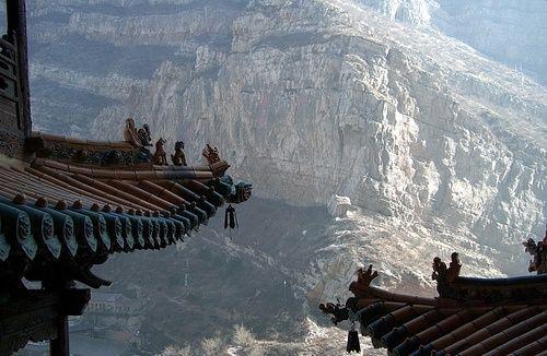 Xuan Kong Si-templo el-suspendido de China
