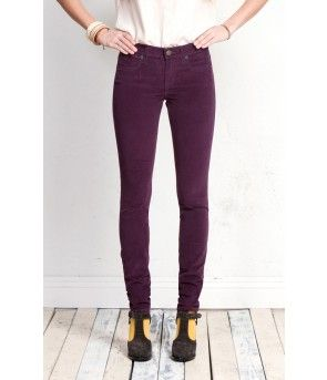 Henry & Belle Super Skinny Cord - Port - The Blues Jean Bar, the ...