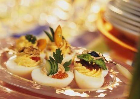 Przekaski z jajek