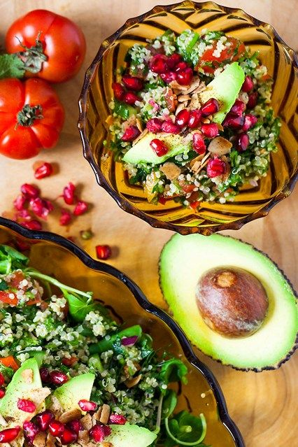 Quinoa Tabbouleh A fresh, gluten-free salad idea with a Middle Eastern twist