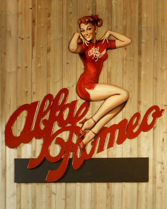 Tony Upson, 'Alfa Romeo Girl'   Classic Driver Market