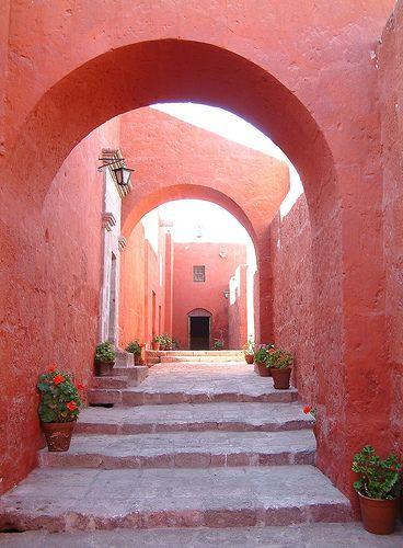 Marsala | Pantone | Color of the Year | 2015 | Santa Caterina Monastry in Peru