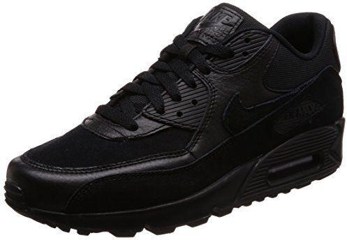 نايك اير ماكس 90 Premium حذاء التدريب للرجال السعودية سوق Nike Air Max 90 Premium Sneakers For Men All Black Sneakers Sneakers Black Sneaker