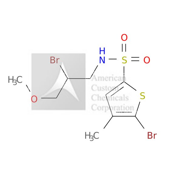 5-BROMO-N-(2-BROMO-3-METHOXYPROPYL)-4-METHYLTHIOPHENE-2-SULFONAMIDE is now  available at ACC Corporation