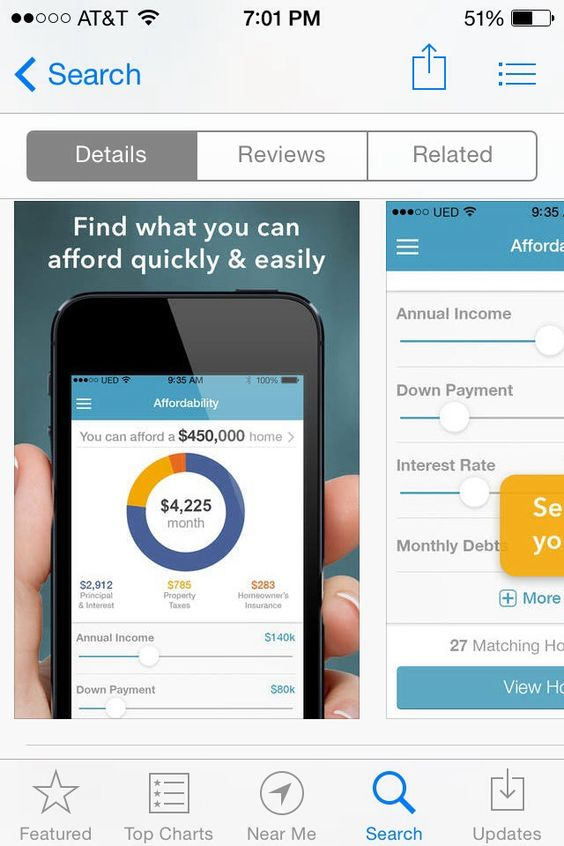 Best Calculator Ui Images On   Mobile Ui Mortgage