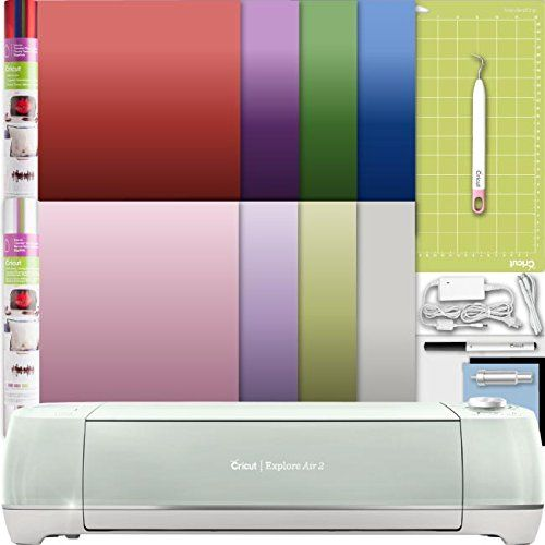 Cricut Explore Air 2 Machine Bundle A Weeder Tool Ironon Foil Samplers Check Out This Great Product This I Scrapbook Weeder Tool Lighted Bathroom Mirror