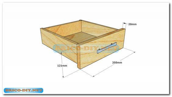 Plano como hacer mesa de centro madera web del bricolaje - Diseno de muebles de madera ...