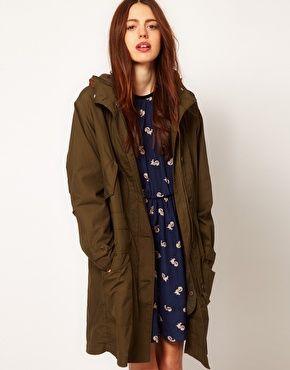 YMC Cotton Parka Jacket women clothes 2dayslook new clothes