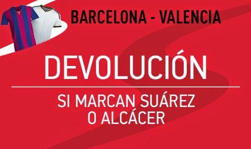 el forero jrvm y todos los bonos de deportes: sportium bono 50 euros devolucion Barcelona vs Val...