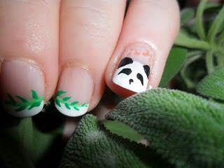 awsome panda nails