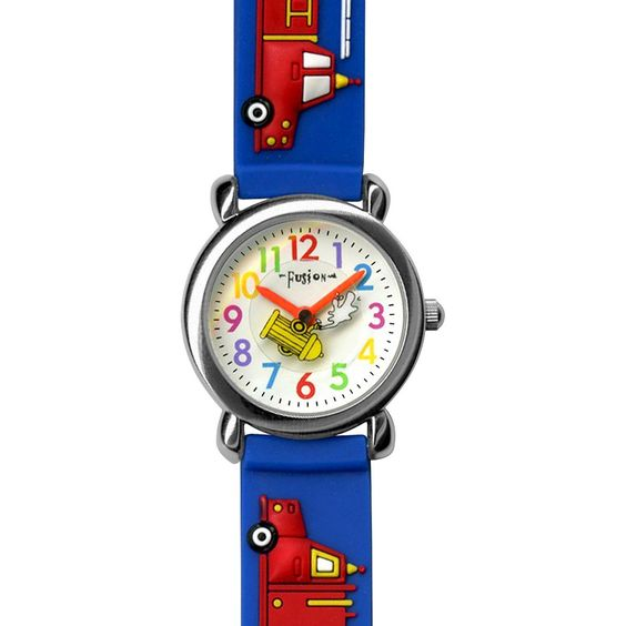 Boys' Fusion Firetruck Watch - Blue/Red