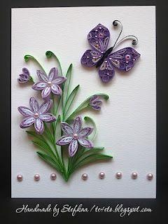 purple #quilling