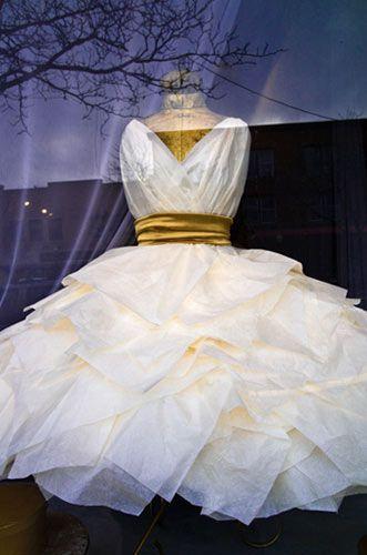 explore paper dress