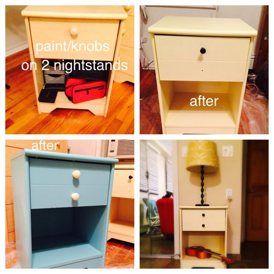 @IkeaHack  Painted and with new knobs