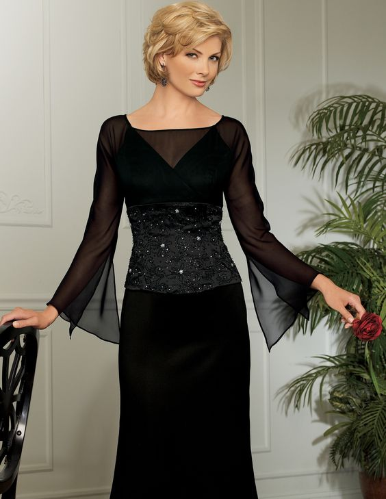 Mother Of The Bride Dresses  ... Bride Dresses: Black Color Makes ...