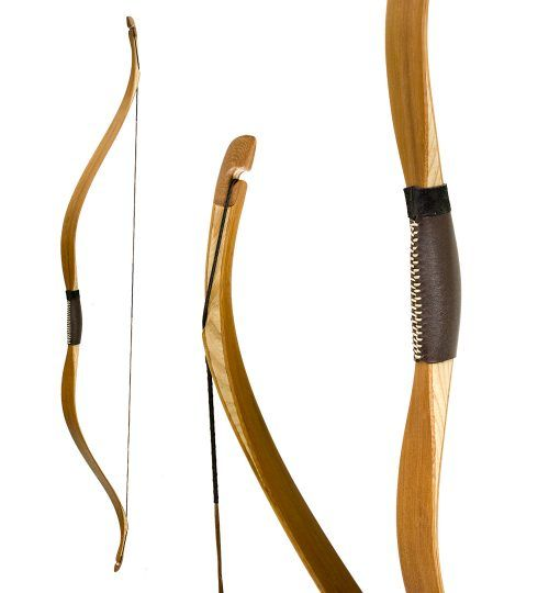 KP Archery 58 30lb Traditional Hickory Longbow Right Handed